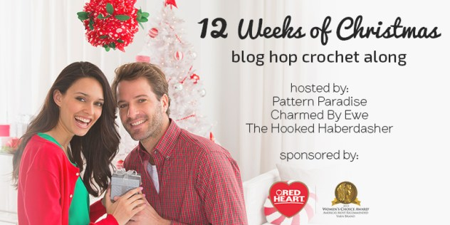 #12WeeksChristmasCAL on Pattern-Paradise.com