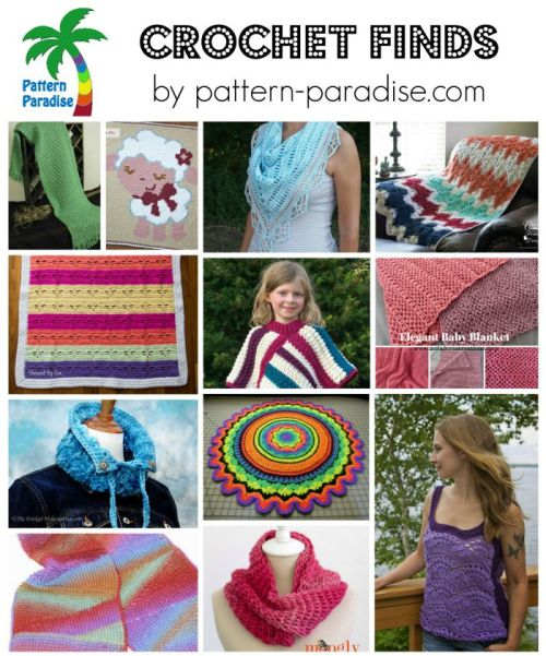 Crochet Finds on Pattern-Paradise.com 8-3-15