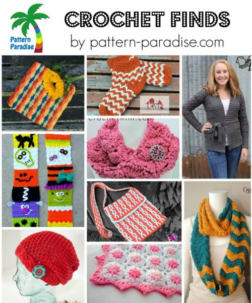 Crochet Finds 9-14-15 by Pattern-Paradise.com