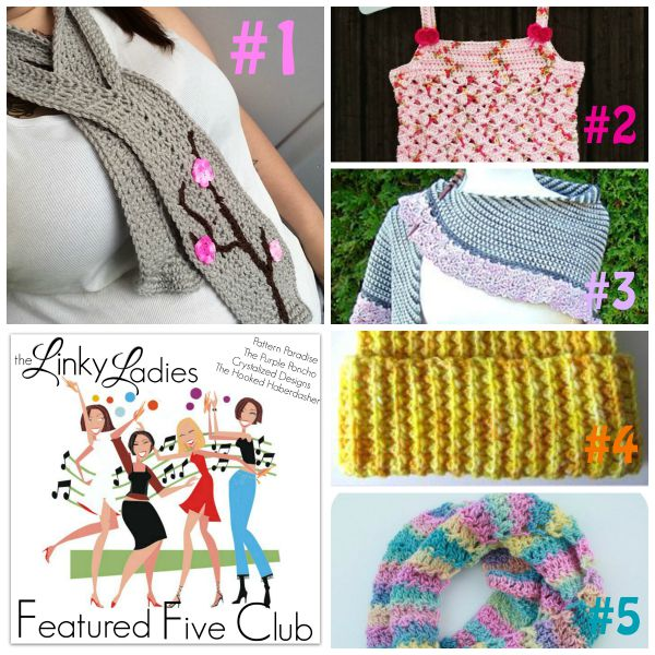 Linky Ladies Link Party #16 on Pattern-Paradise.com
