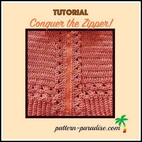 Tutorial Installing a Zipper by Pattern-Paradise.com