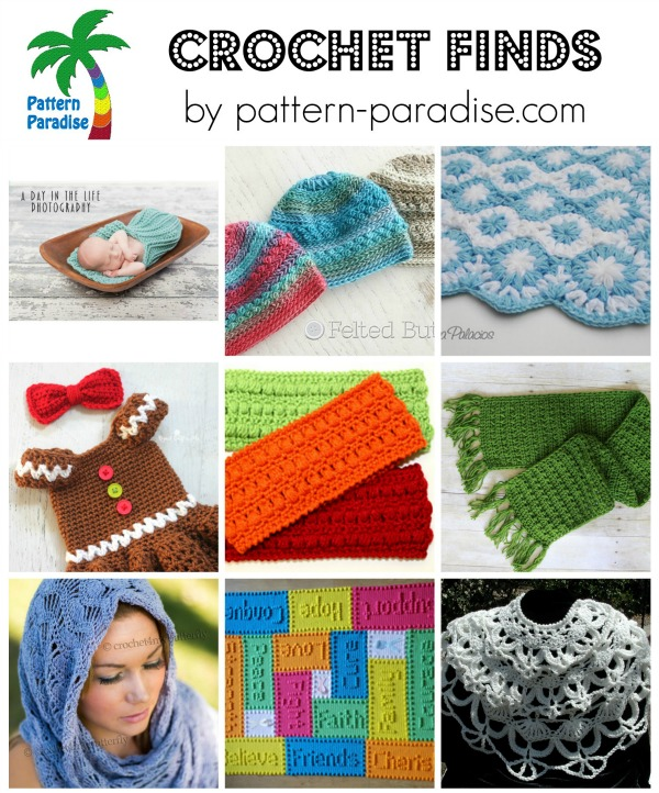 Crochet Finds on Pattern-Paradise.com 10-19-15