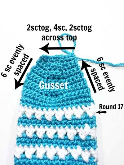 Crochet Pattern X Stitch Slipper Socks by Pattern-Paradise