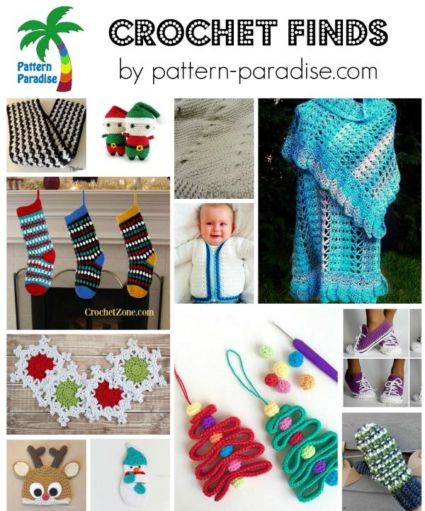 Crochet Finds 11-23-15 on Pattern-Paradise