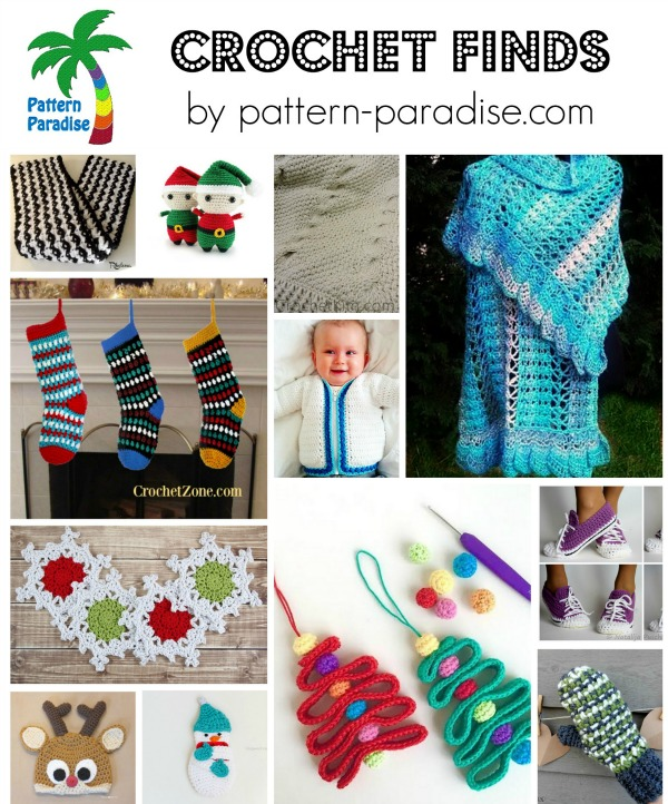 Crochet Finds 11-23-15 on Pattern-Paradise