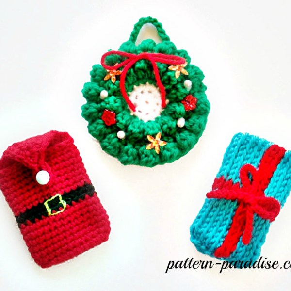 Free Crochet Pattern: Money & Gift Card Holders