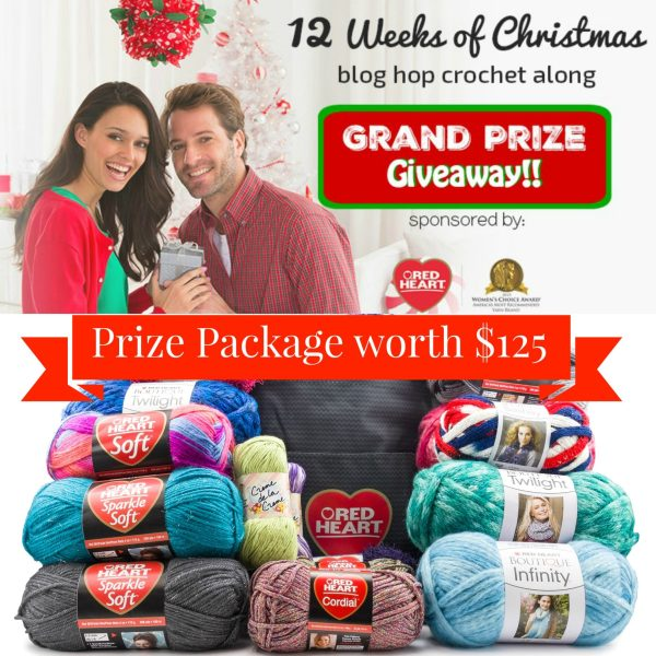 12 Weeks of Christmas CAL – Grand Prize Giveaway!!