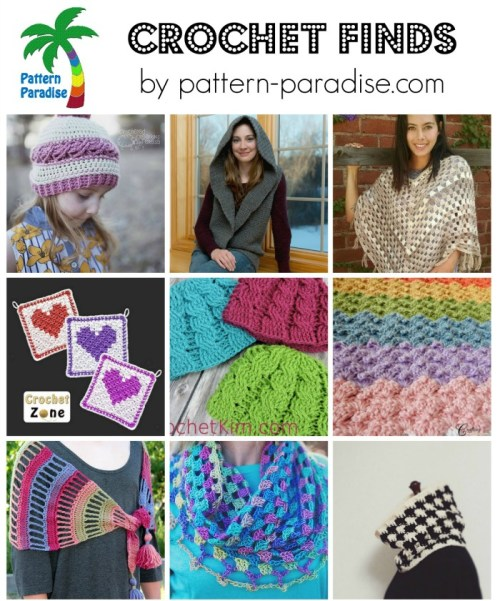 Crohet Finds 2-1-15 on Pattern-Paradise.com