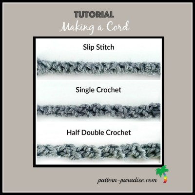 Crochet Cord Tutorial