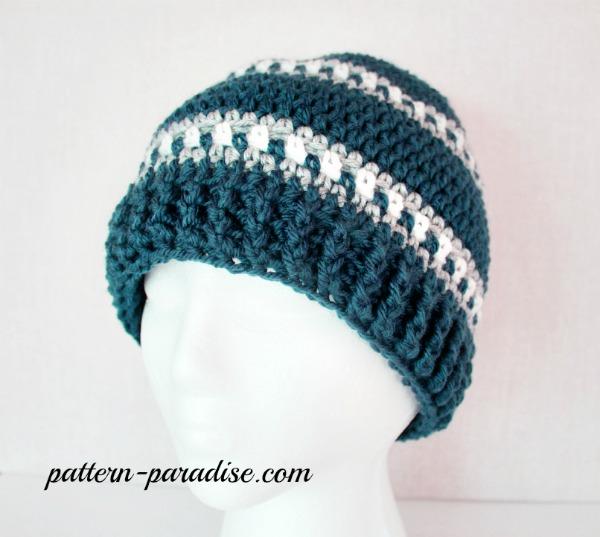 Free Crochet Pattern – Snowy Day Hat