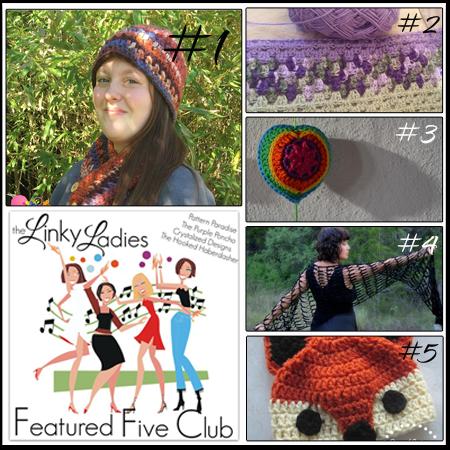 Linky Ladies Community Link Part on Pattern-Paradise.com