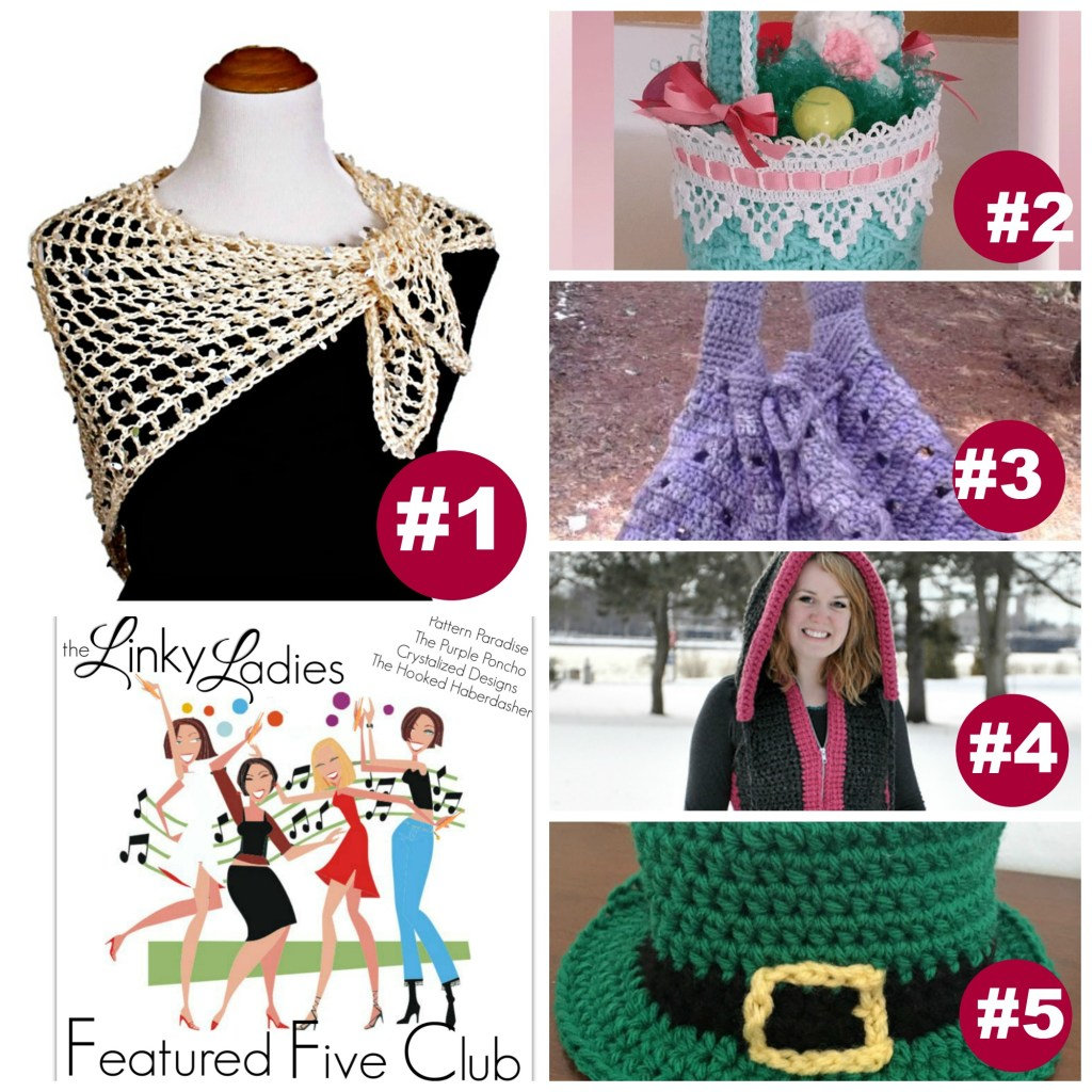 Linky Ladies Link Party #41 on Pattern-Paradise.com