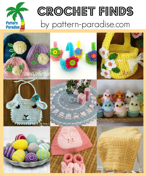 Crochet Finds on Pattern-Paradise.com 3-7-16