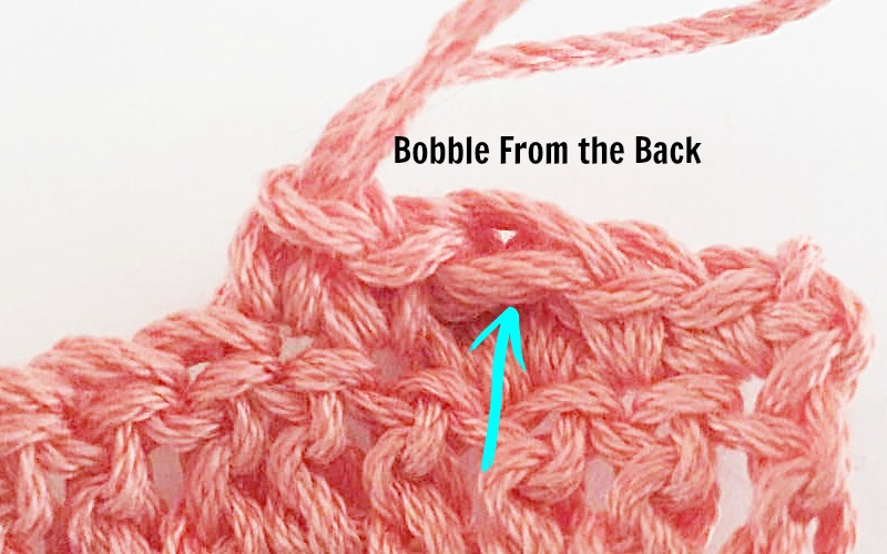 Bobble Stitch Tutorial by Pattern-Paradise.com