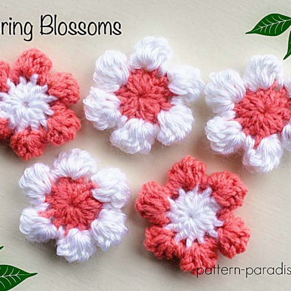 Free Crochet Pattern: Spring Blossoms