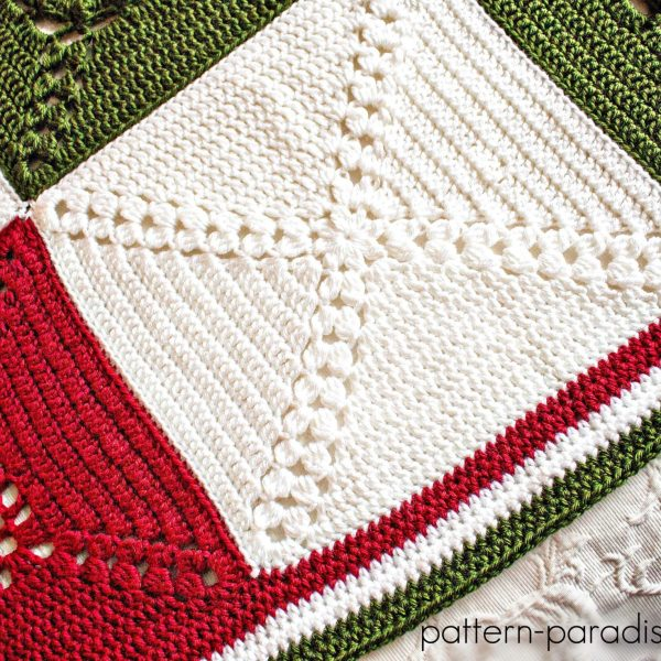 Rosary Hill Blanket CAL – Week 4 Finishing