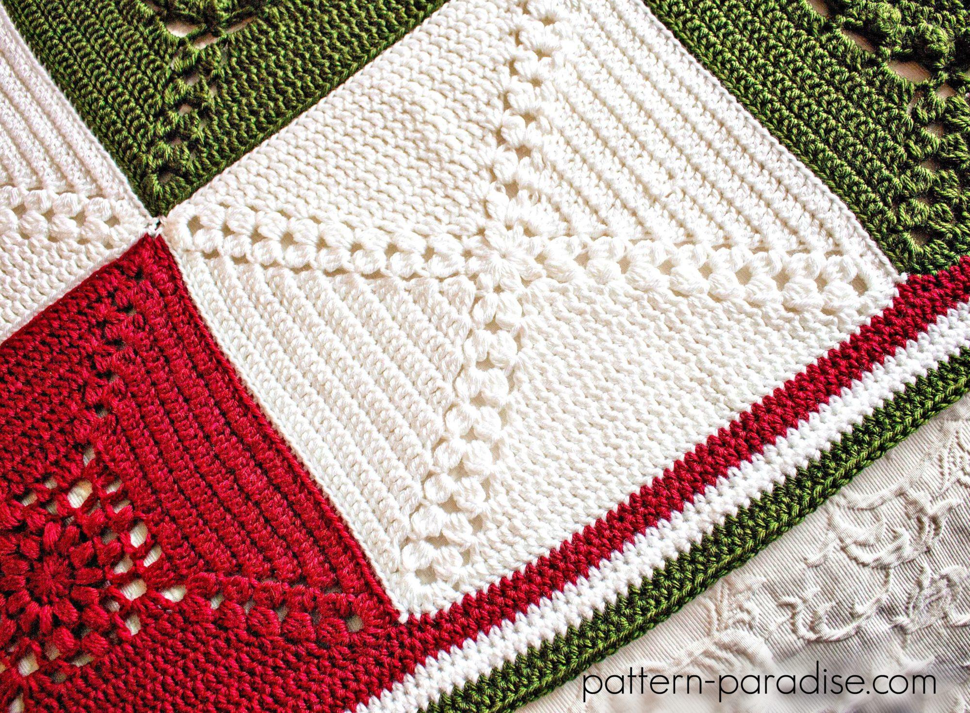 Único Patrón De Crochet Carenado Galería - Manta de Tejer Patrón de ...