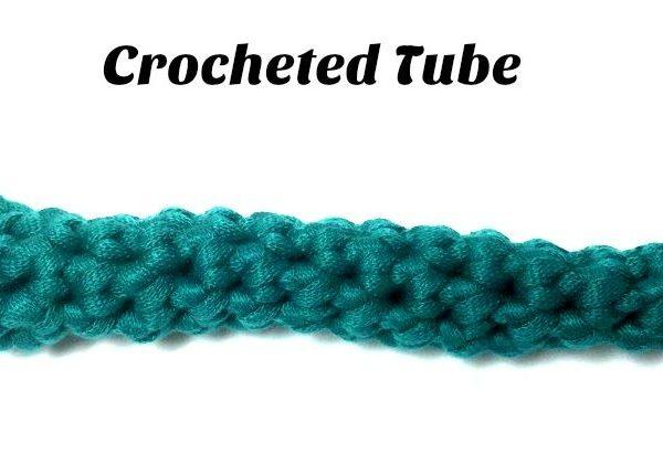 Tutorial: Making a Crocheted Tube