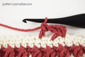 Tutorial: How to Crochet the Crossed DC Stitch