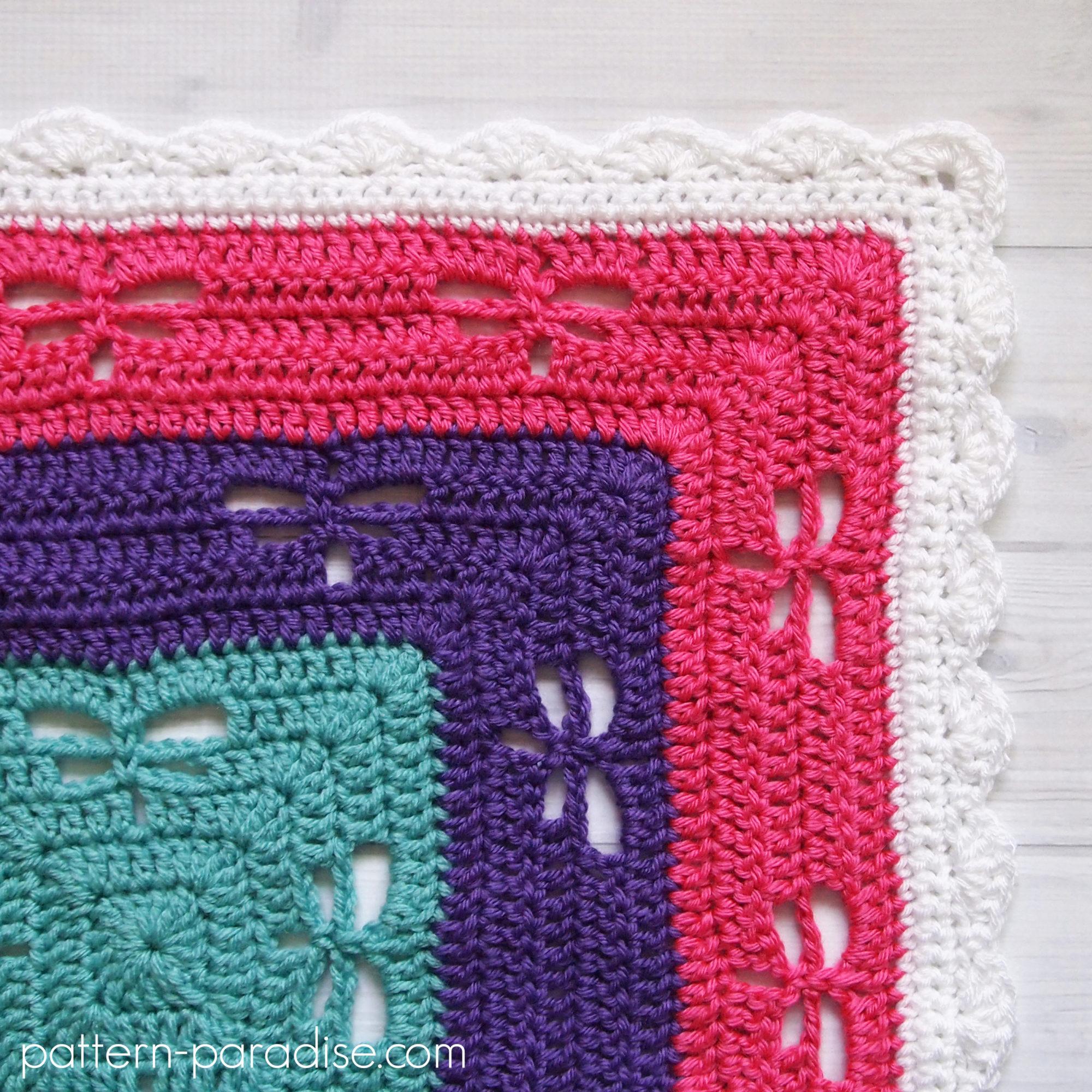 Free Crochet Pattern Radiating Dragonflies Throw Pattern Paradise