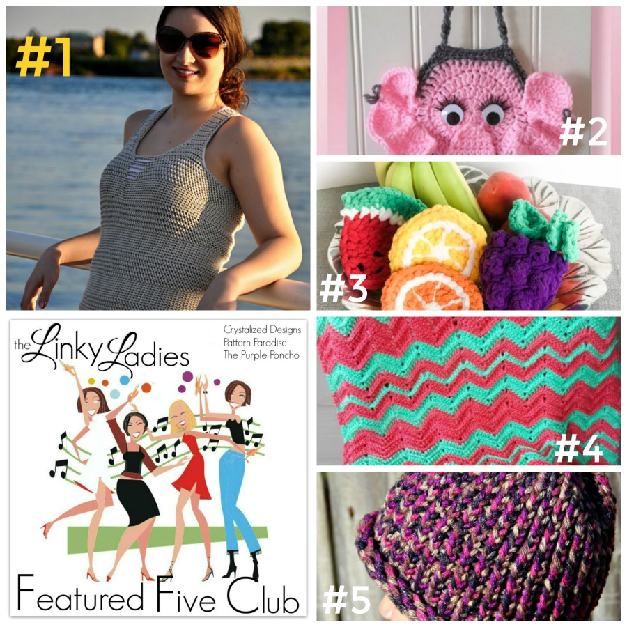 Linky Ladies #65 on Pattern-Paradise.com