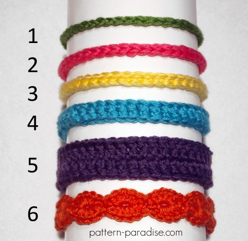 crochet deep pink baby Headband hairband for baby