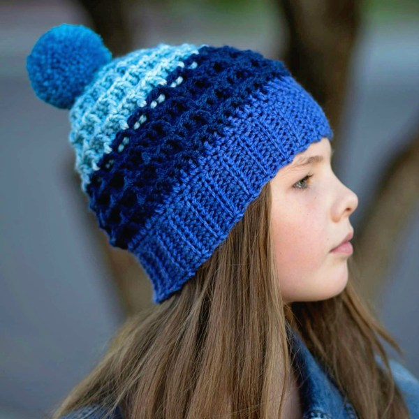Free Crochet Pattern: Alpine Nights Beanie