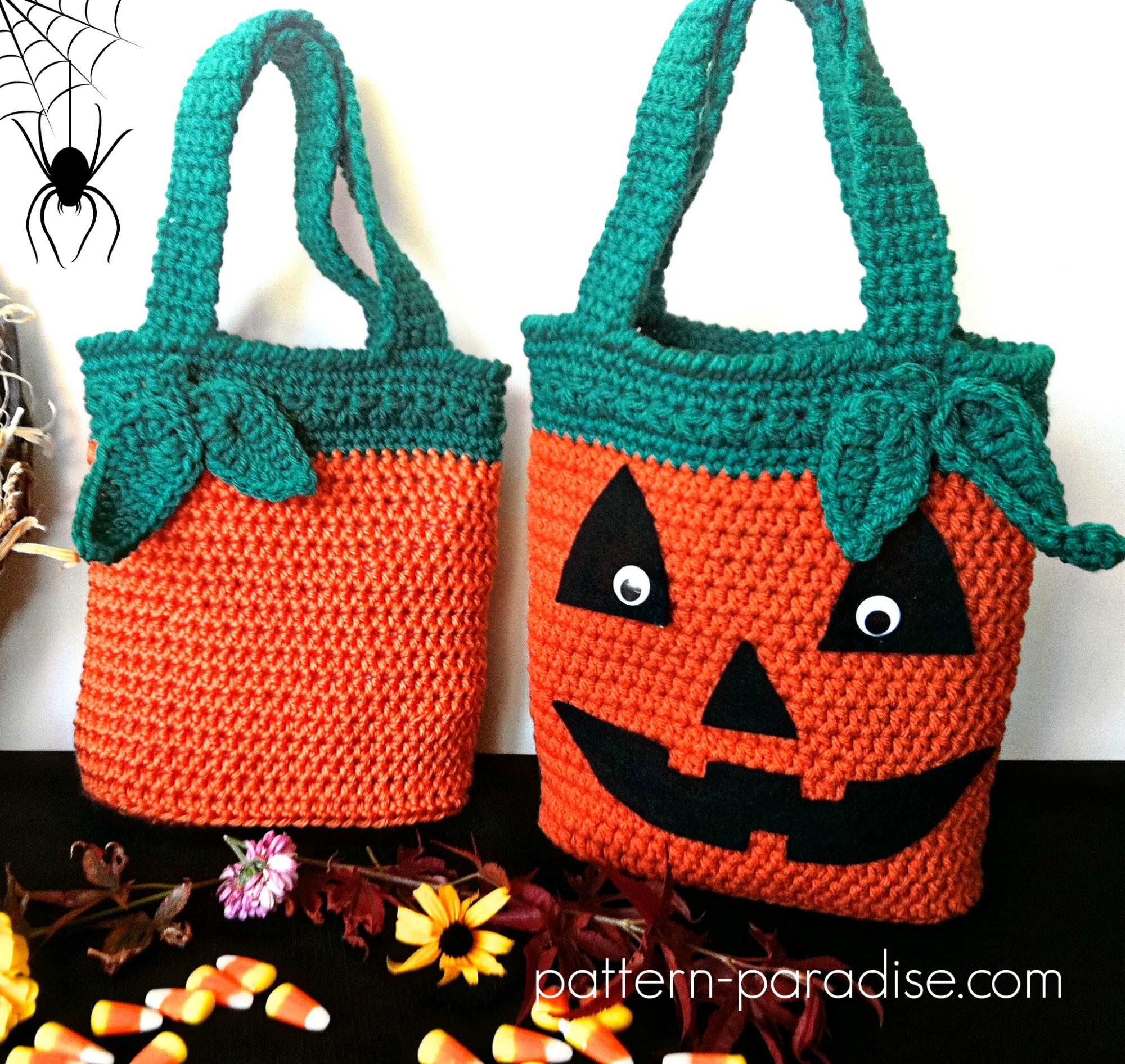 StrawSherries\' Favourites: Free Crocheted Halloween Bag Patterns ...
