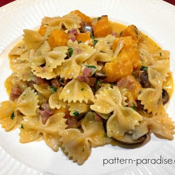 Recipe: Maria's Butternut Squash Pasta