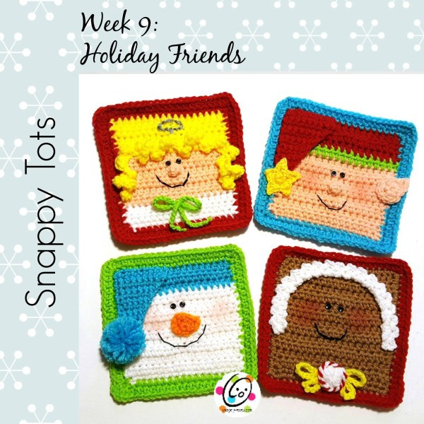Holiday Friends: #12WeeksChristmasCAL Week 9