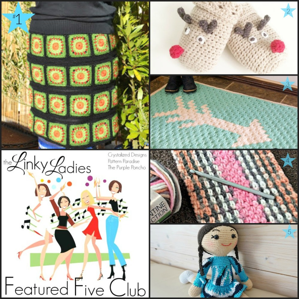 Linky Ladies Community Link Party #78 on Pattern-Paradise.com