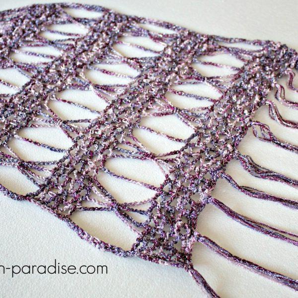 Free Crochet Pattern: Spangle Wrap Super Scarf