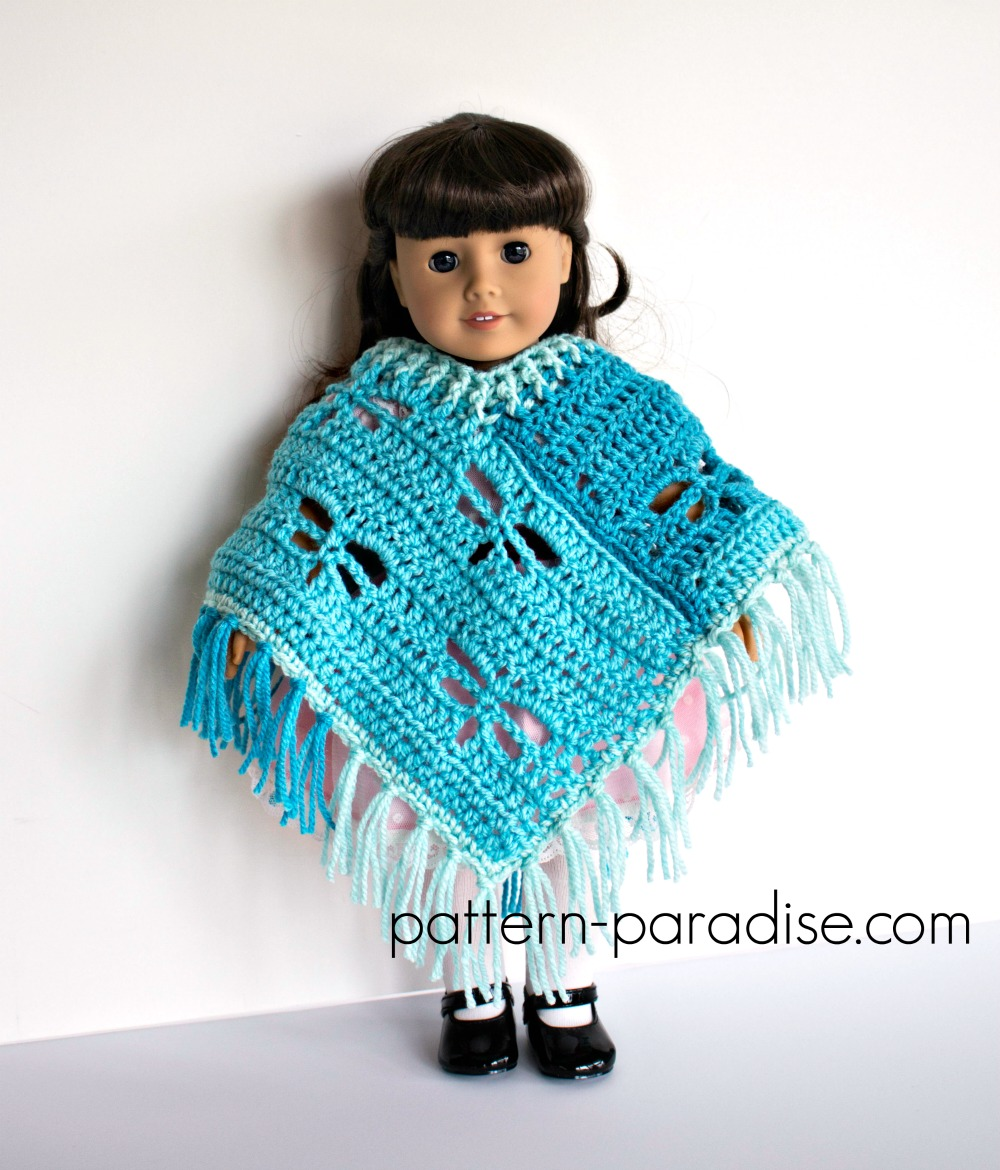 Free crochet pattern dragonfly poncho for 18 dolls pattern free crochet pattern dragonfly poncho for 18 dolls bankloansurffo Choice Image