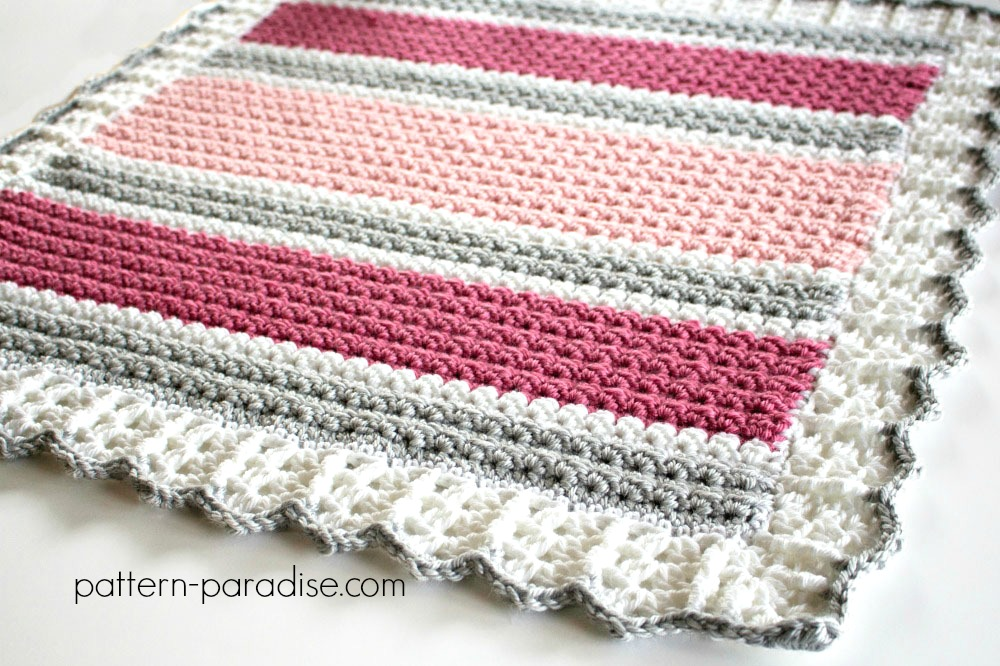 Free Crochet Pattern: Essentials Baby Blanket Pattern ...