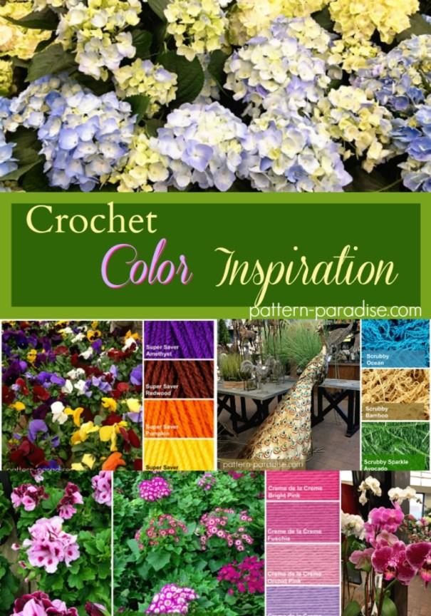 Crochet Color Inspiration on pattern-paradise.com