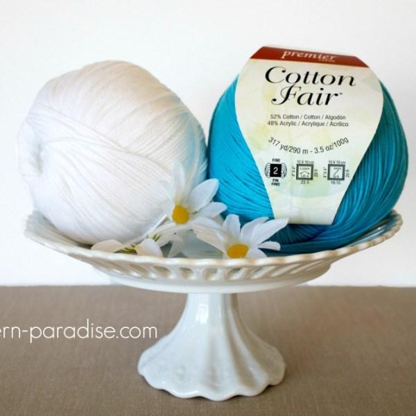 #CelebrateMomCAL – Premier Cotton Fair Yarn Review
