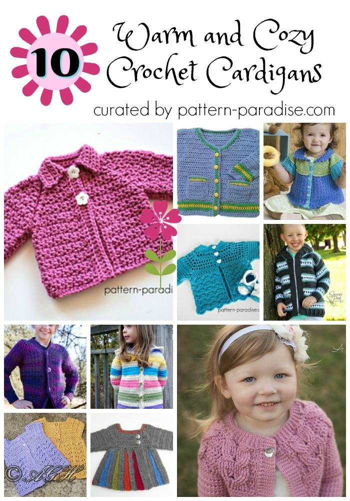 Crochet Finds – Cozy and Sweet Cardigans for Little Ones
