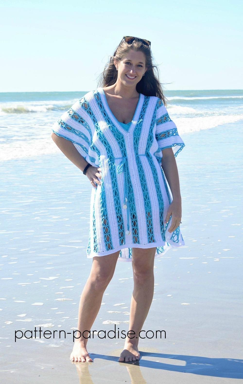 CelebrateMomCAL – Beach Day Cover-Up Tunic | Pattern Paradise