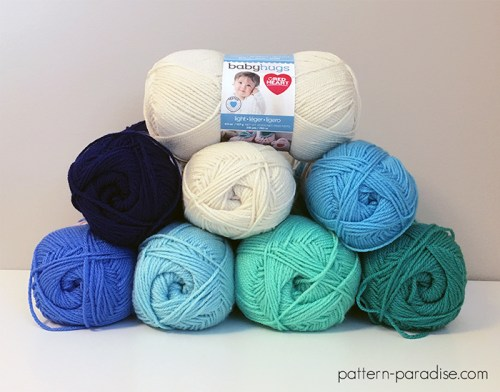 Seaside Garden Throw Crochet-Along   Pattern Paradise