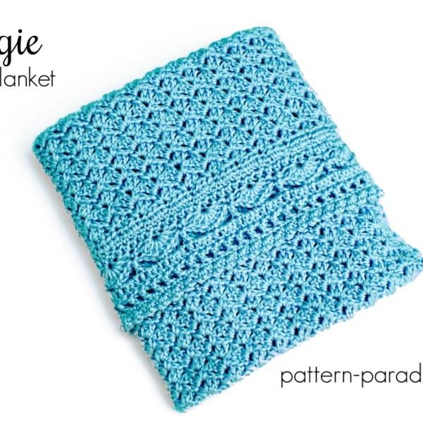 Crochet Pattern: Georgie Baby Blanket