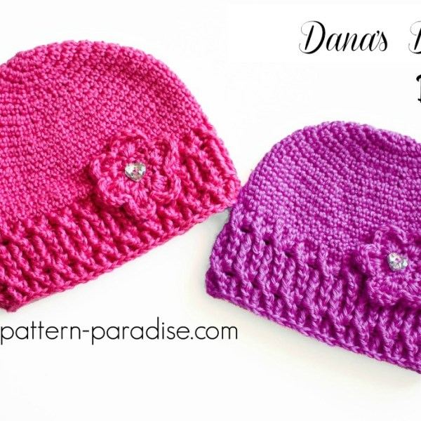 Crochet Pattern: Dana's Dream Beanie and Slouch