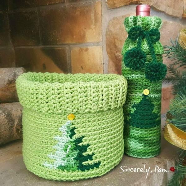 #12WeeksChristmasCAL – Christmas Basket Graph + Bonus!