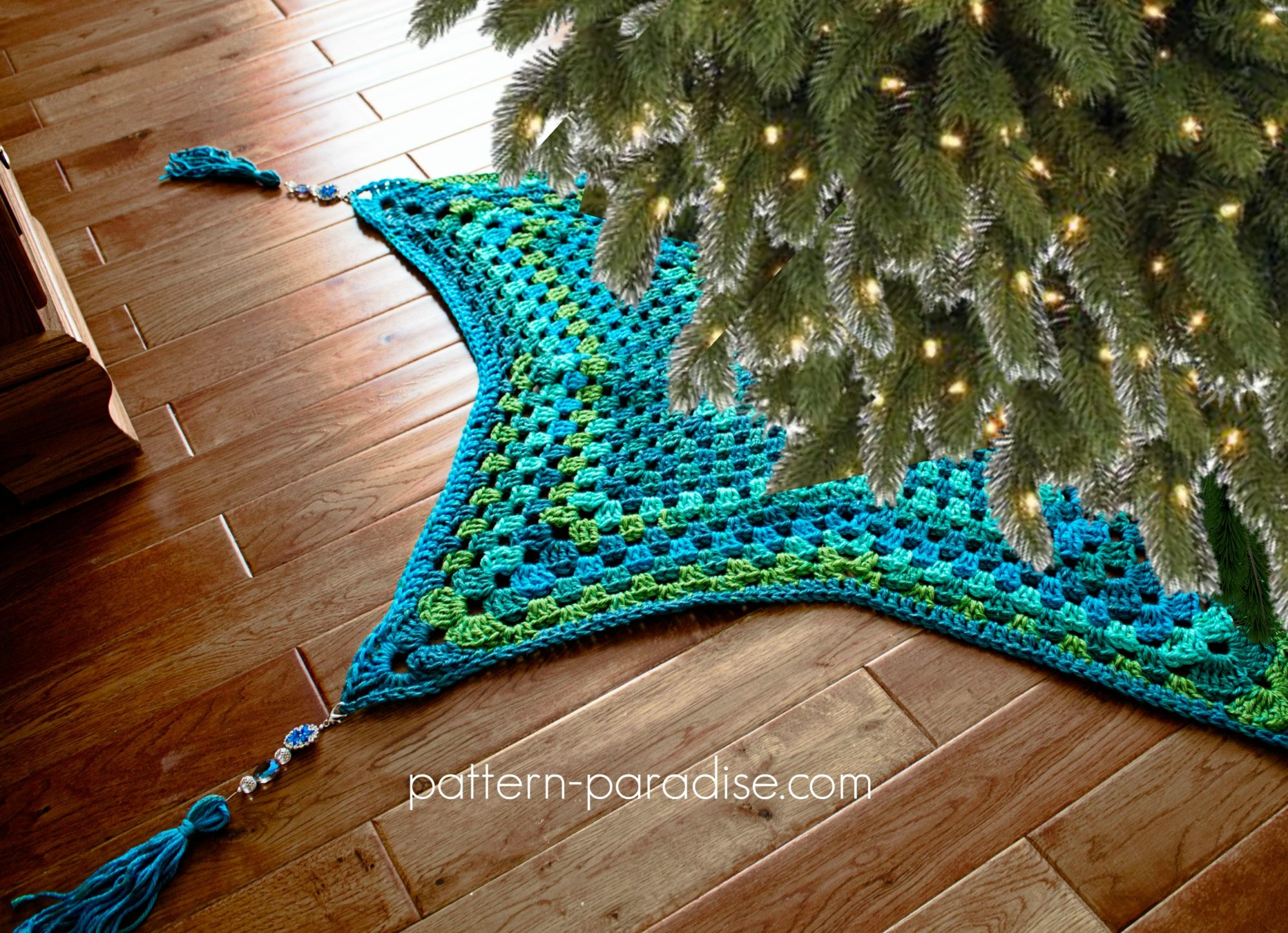 Free Crochet Tree Skirt Pattern Custom Inspiration Design