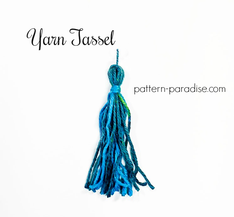 Tutorial: Yarn Tassel