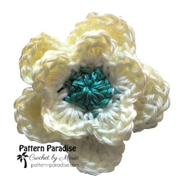 Free Crochet Pattern: Basic Flower