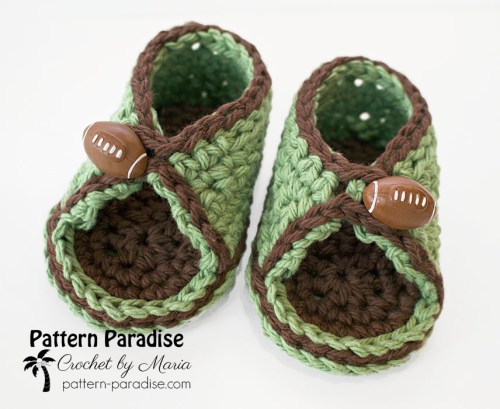 Free Crochet Pattern Peek-A-Boo Sandals