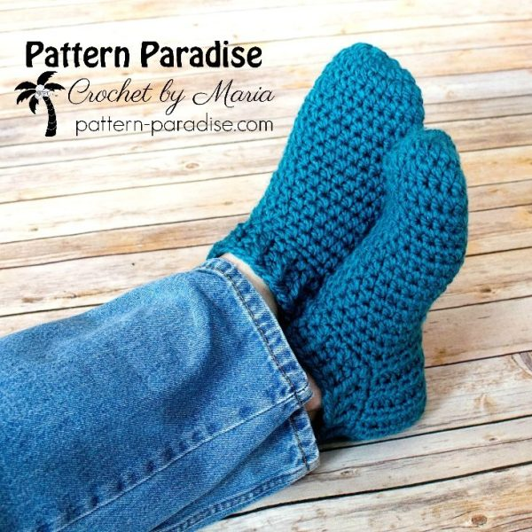 Free Crochet Pattern: Snappy Slippers