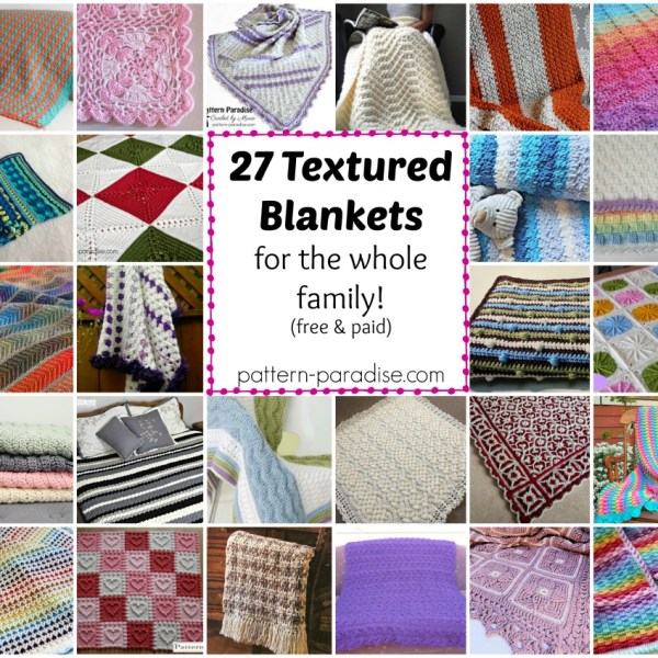 Crochet Finds – Textured Blankets and Throws