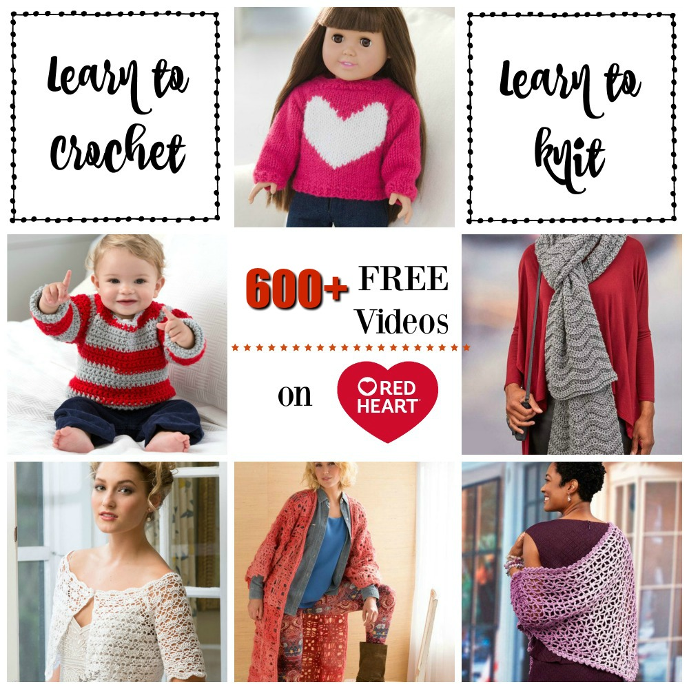 Crochet Finds – Red Heart Yarns Crochet Videos!