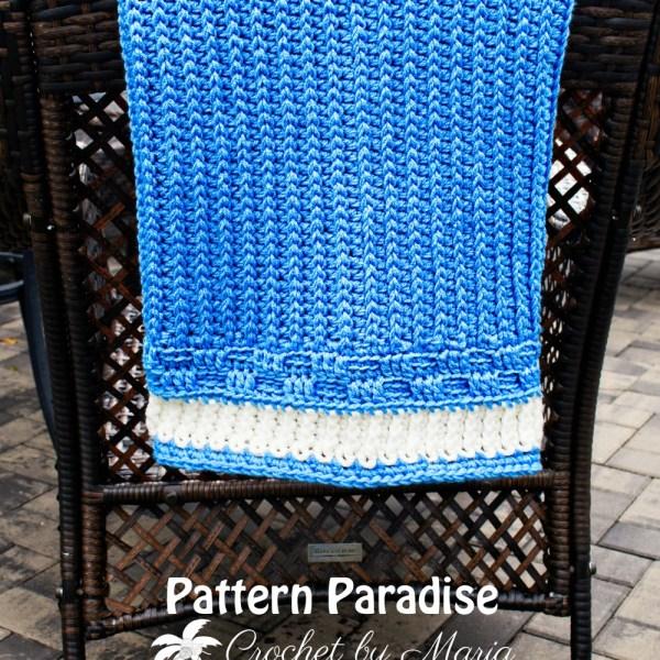 Free Crochet Pattern: Bennington Baby Blanket